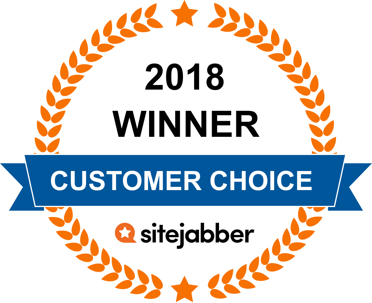 2018 Customer choice award