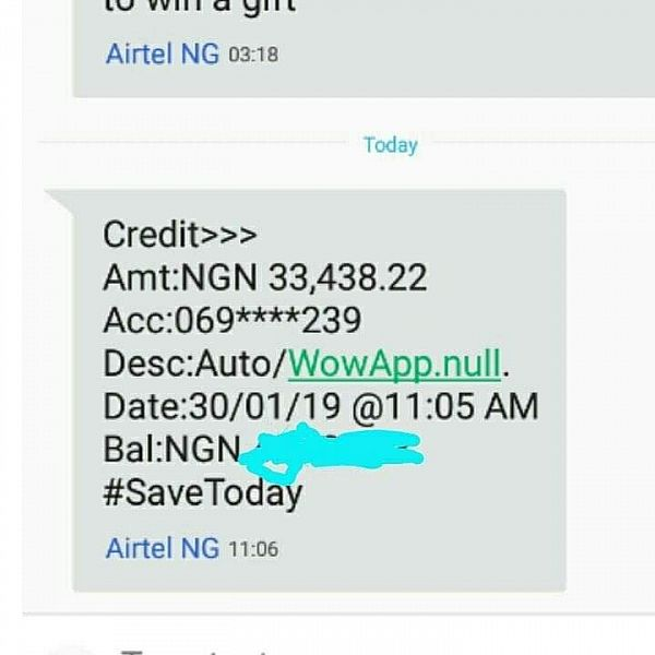 Wowapp payment proof