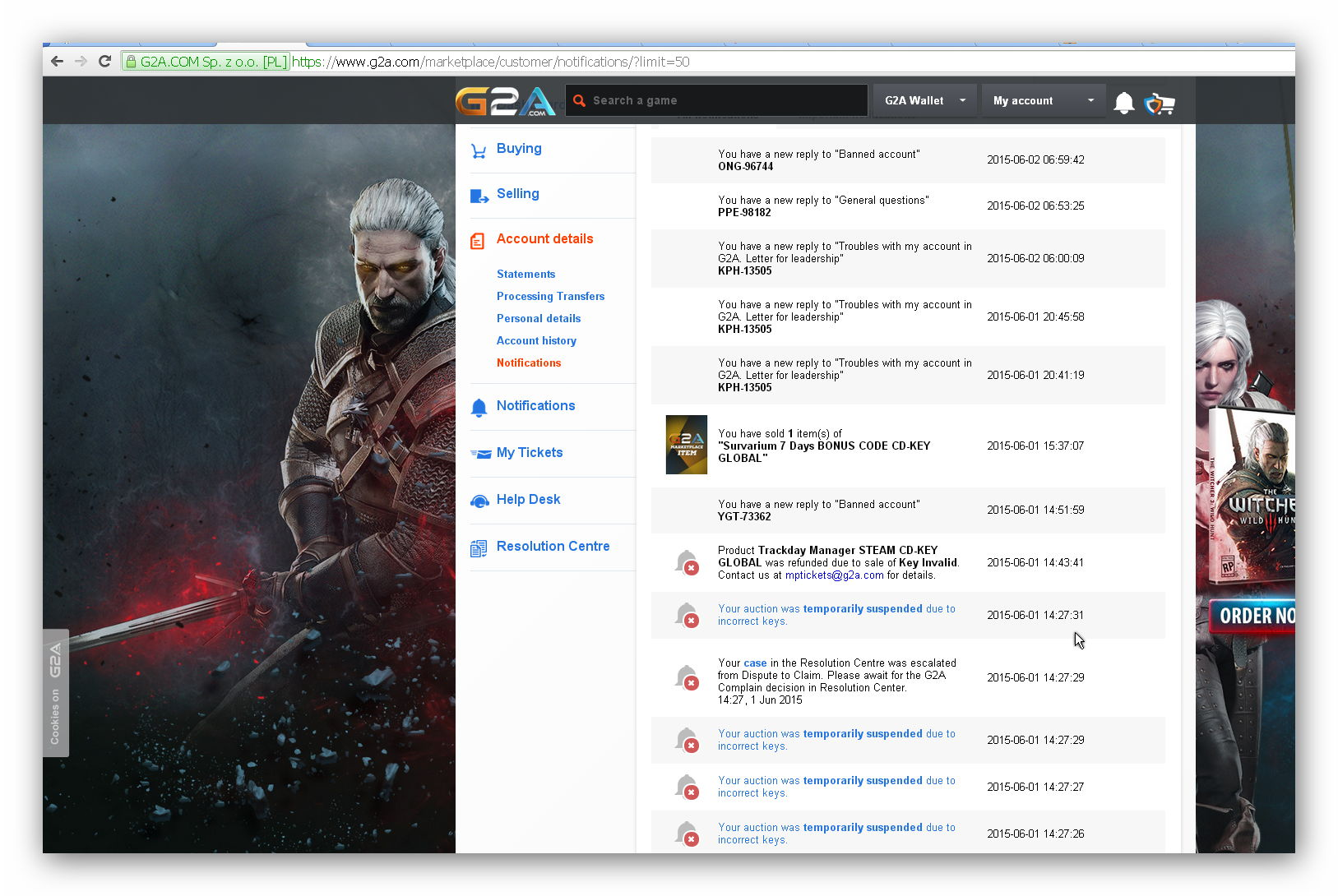 G2A Reviews - 68 Reviews of G2a com   Sitejabber