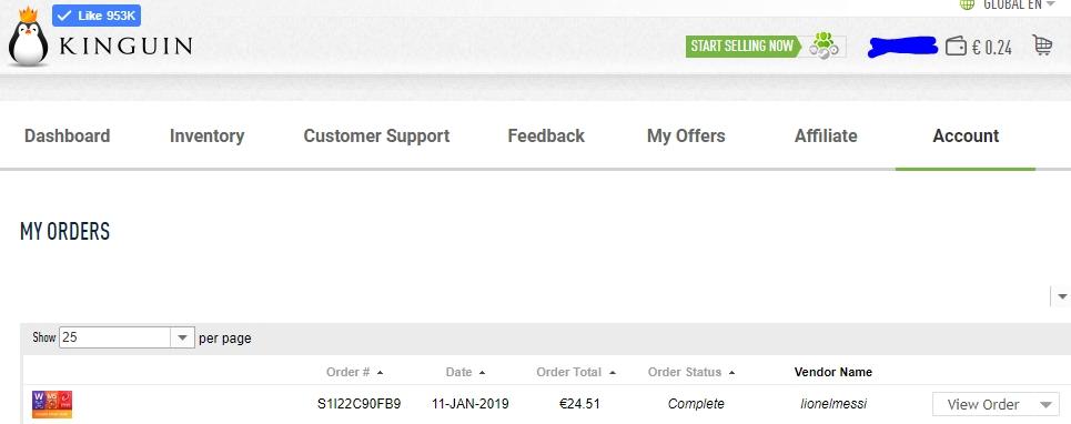 Kinguin Reviews - 297 Reviews of Kinguin net | Sitejabber