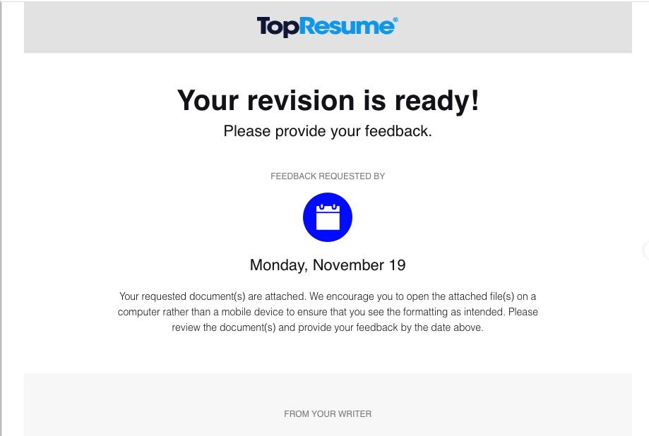 TopResume Reviews - 2,723 Reviews of Topresume.com | Sitejabber