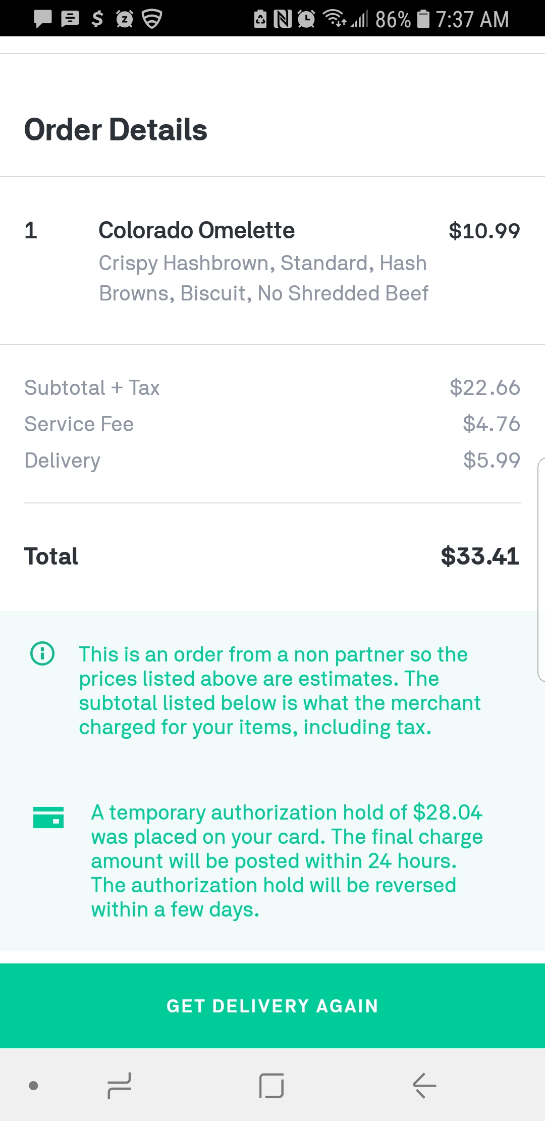 Postmates Reviews - 348 Reviews of Postmates com | Sitejabber