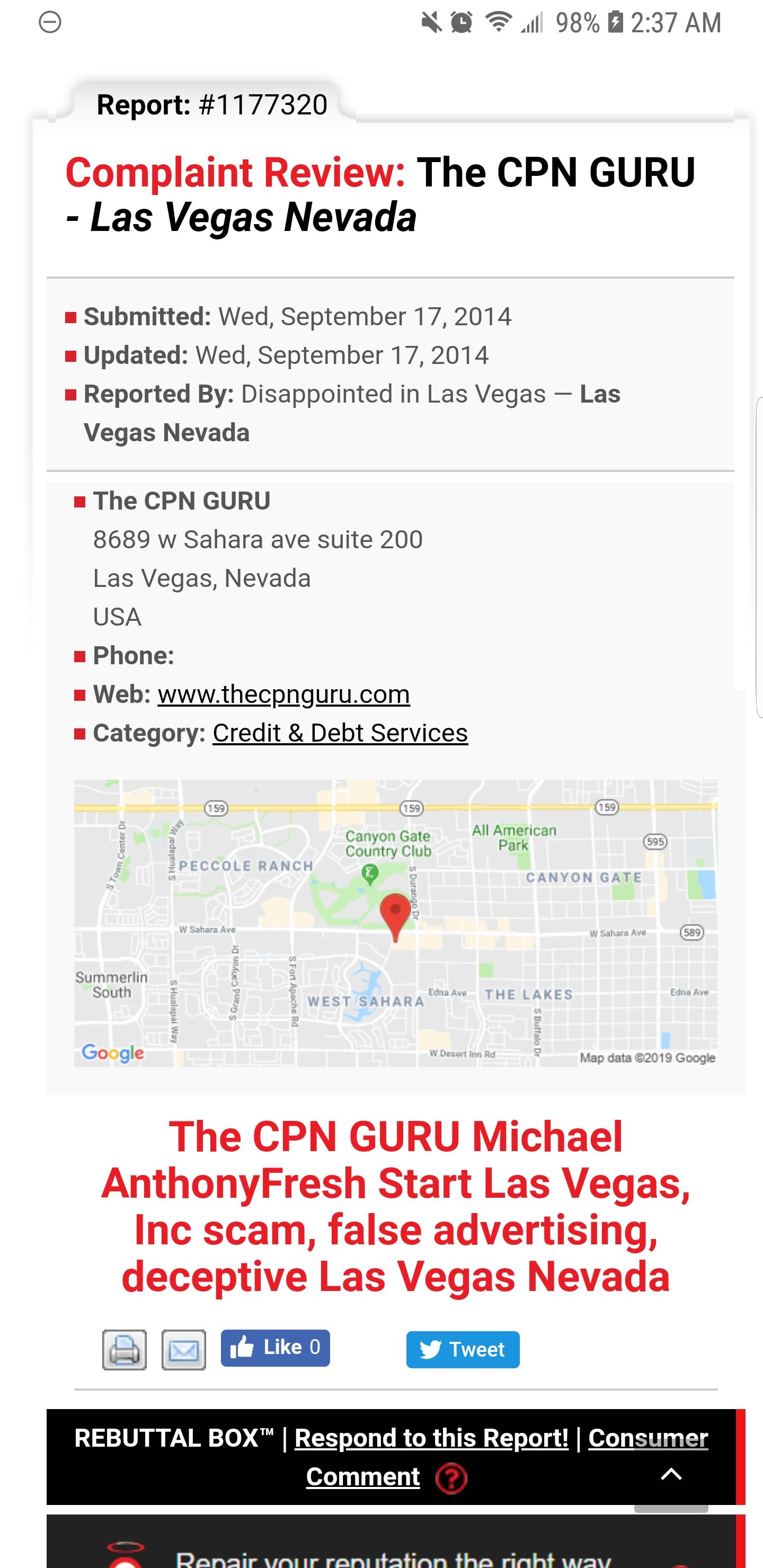 The CPN Guru Reviews - 2 Reviews of Thecpnguru com | Sitejabber