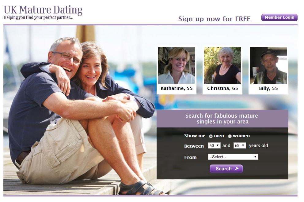 Mature dating login
