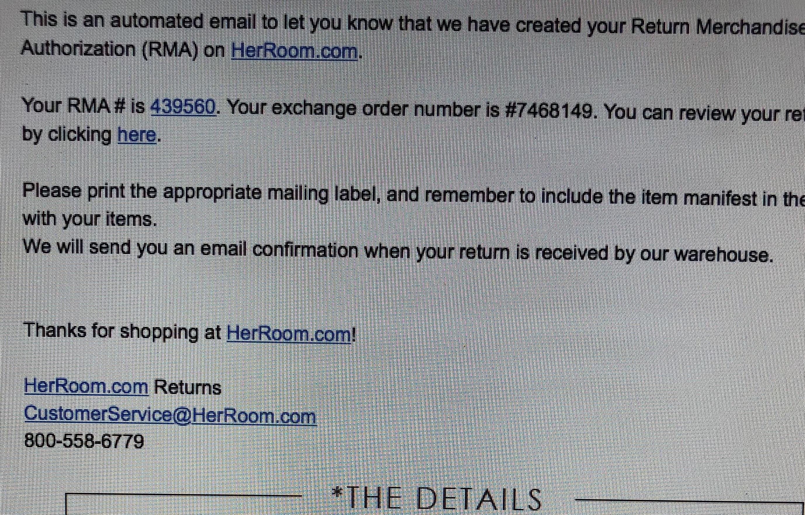 3b347d2ea3 HerRoom Reviews - 409 Reviews of Herroom.com