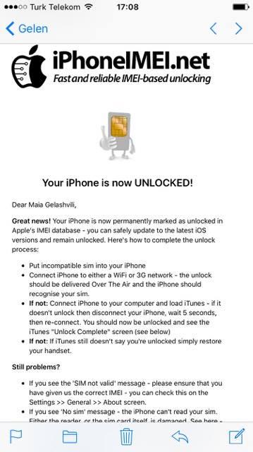 iPhoneIMEI net Reviews - 421 Reviews of Iphoneimei net | Sitejabber