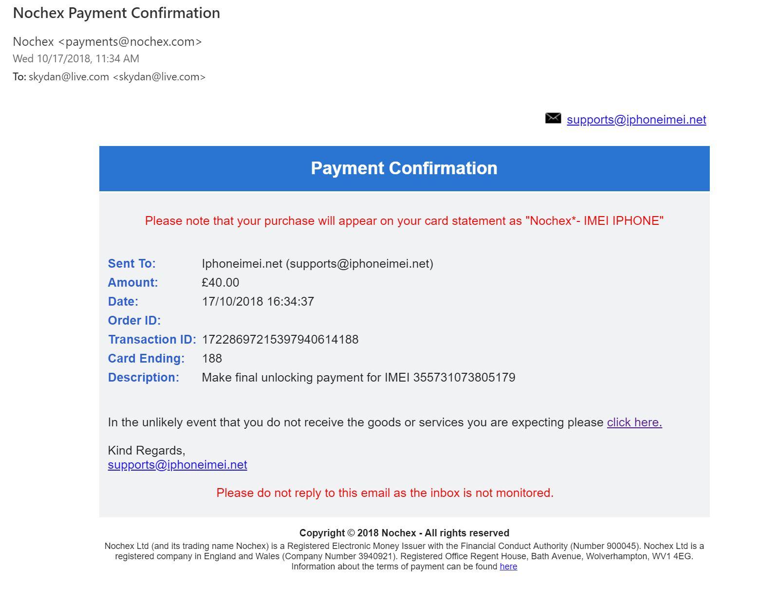 iPhoneIMEI net Reviews - 421 Reviews of Iphoneimei net   Sitejabber