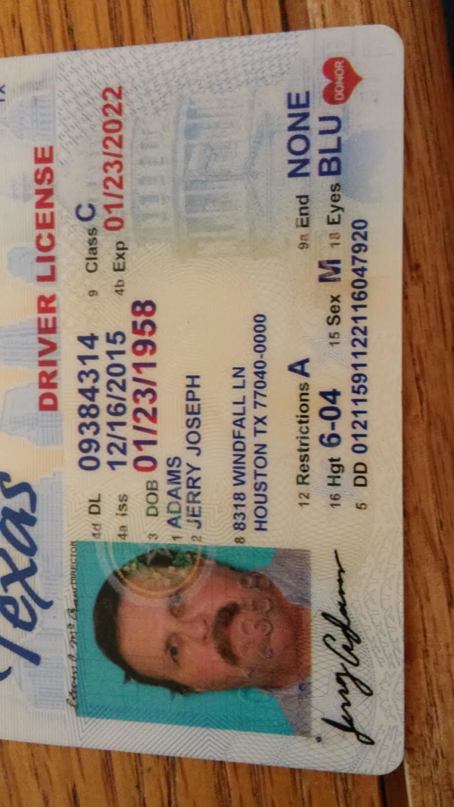 texas drivers license class c restriction g