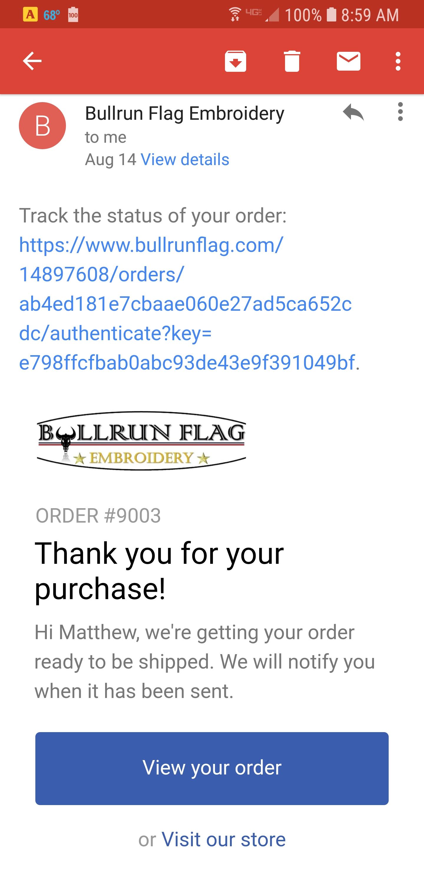 42b2d8717 Bullrun Flag Reviews - 46 Reviews of Bullrunflag.com | Sitejabber