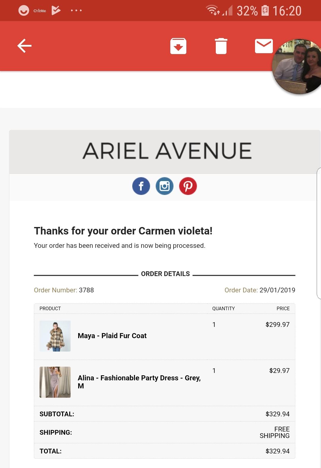 99e95b586b7 Ariel Avenue Reviews - 19 Reviews of Arielavenue.com