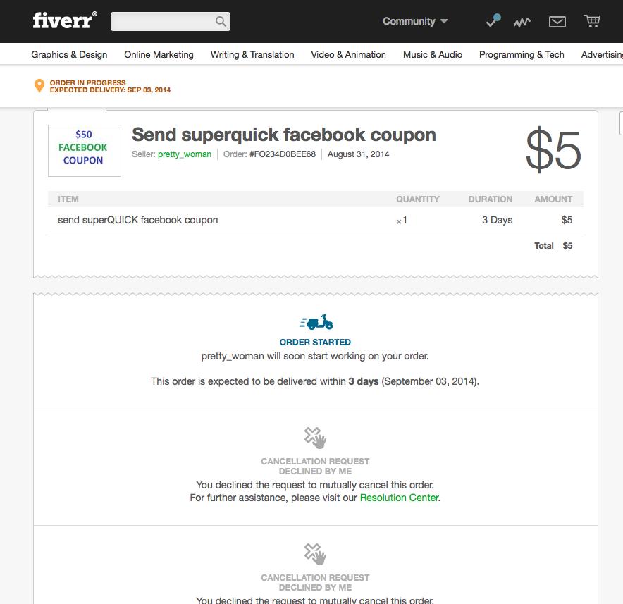 Fivver Reviews - 926 Reviews of Fiverr com | Sitejabber