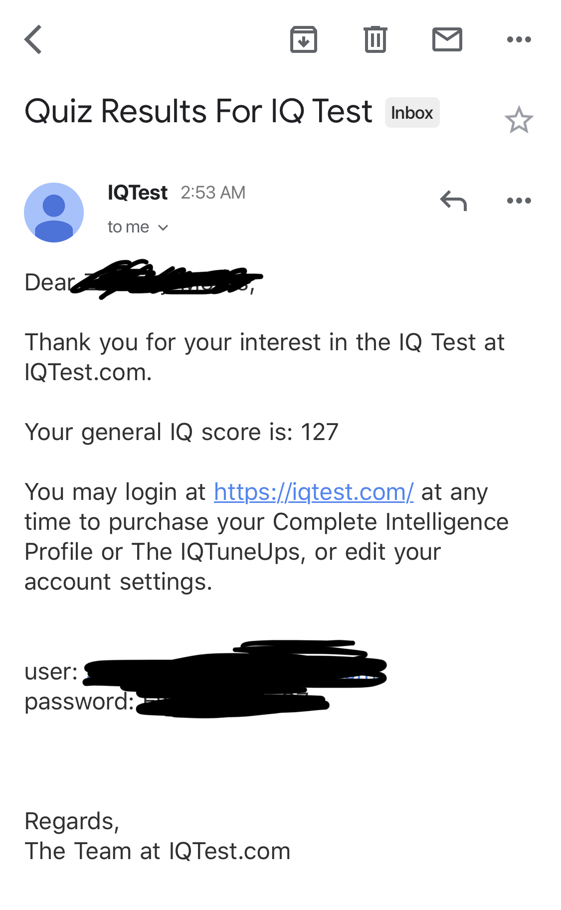 IQTest com Reviews - 63 Reviews of Iqtest com | Sitejabber