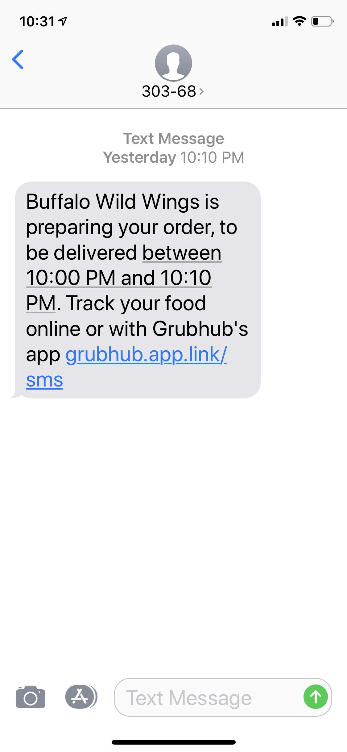 grubhub driver app not trusted