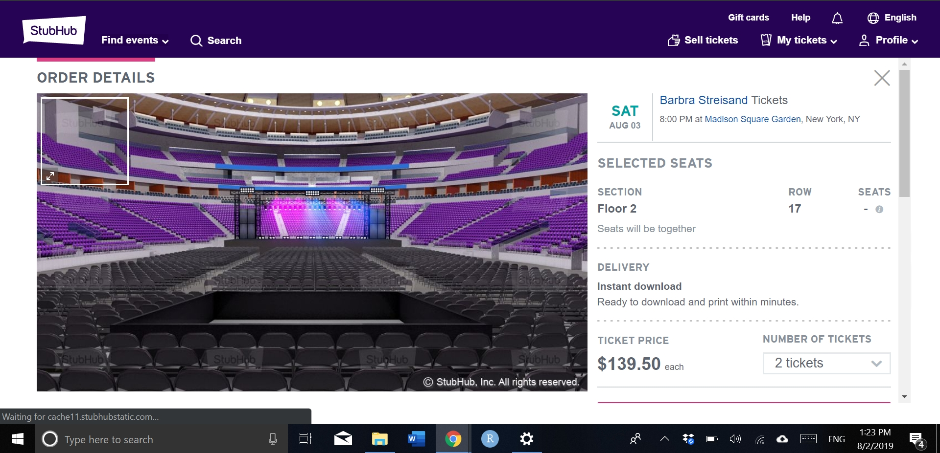 StubHub Reviews - 606 Reviews of Stubhub com | Sitejabber