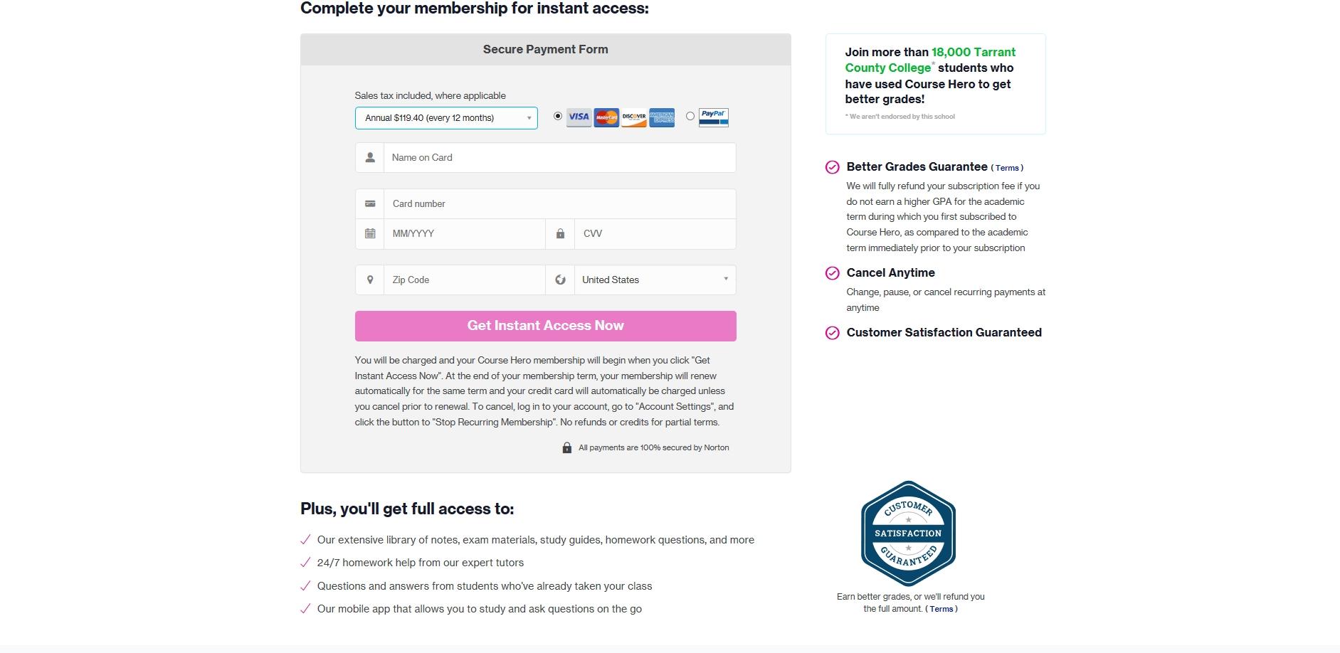 CourseHero Reviews - 32 Reviews of Coursehero com | Sitejabber
