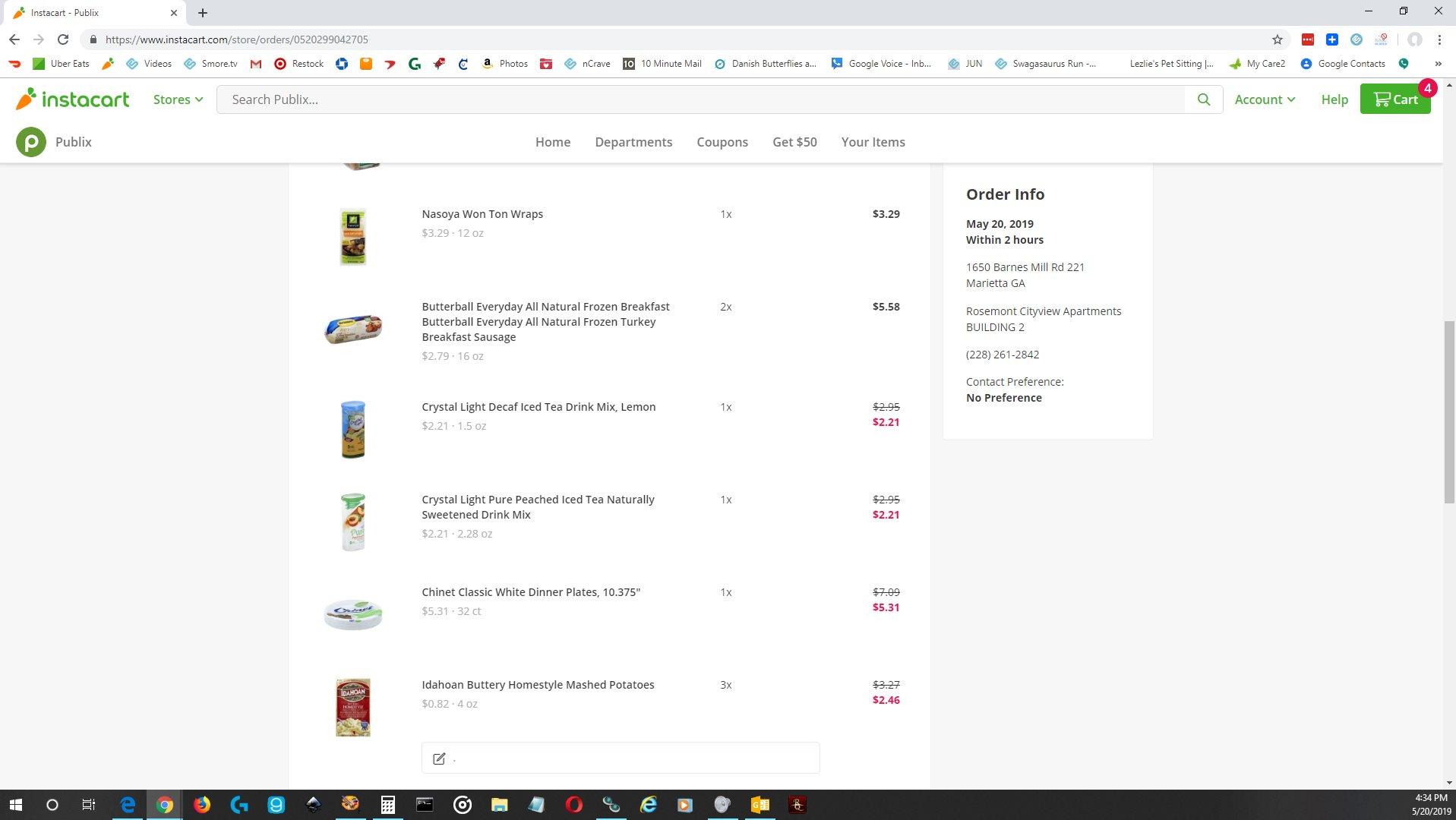 Instacart Reviews - 701 Reviews of Instacart com | Sitejabber