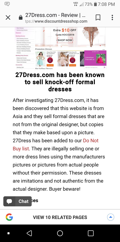 ef1812ec5e3 27dress Reviews - 178 Reviews of 27dress.com