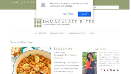 Immaculate Bites Reviews - 1 Review of Africanbites com