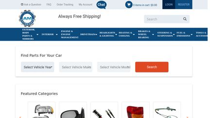 AM Autoparts Reviews - 86 Reviews of Am-autoparts com | Sitejabber