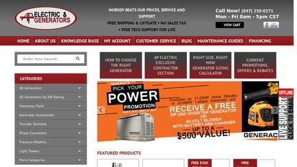 AP Electric & Generators Reviews - 10 Reviews of Apelectric com