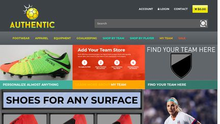 online store 9b0da f6129 AuthenticSoccer Reviews - 5 Reviews of Authenticsoccer.com ...