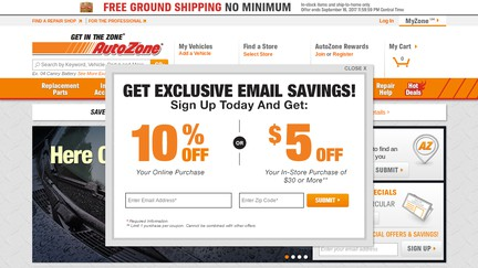 AutoZone Reviews - 53 Reviews of Autozone com | Sitejabber