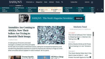 Barron's Reviews - 14 Reviews of Barrons com | Sitejabber