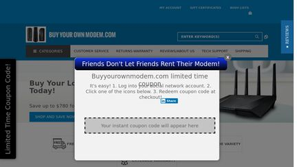 Buy Your Own Modem Reviews - 31 Reviews of Buyyourownmodem com