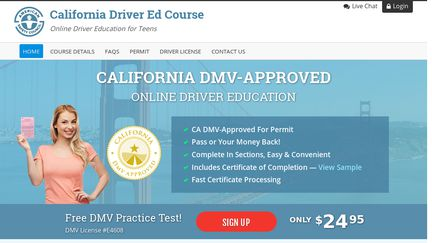 i lost my drivers ed certificate of completion california