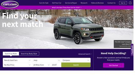 Cars Com Reviews >> Cars Com Reviews 234 Reviews Of Cars Com Sitejabber