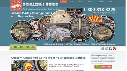Challenge Coins Reviews - 1,255 Reviews of Challengecoinsltd com