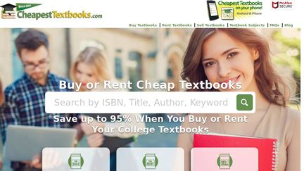 CheapestTextbooks com Reviews - 1 Review of