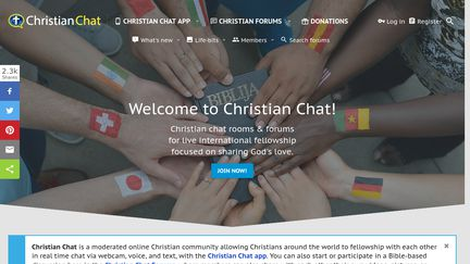 Chat site international with no log in