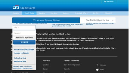 Citicards Pay Bill >> Citicards Reviews 6 Reviews Of Citicards Com Sitejabber