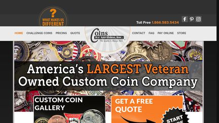 Military & Custom Challenge Coins Reviews - 568 Reviews of