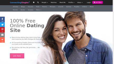 Dating Websites Free >> Connectingsingles Reviews 35 Reviews Of Connectingsingles