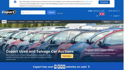 Copart Home Page >> Copart Co Uk Reviews 2 Reviews Of Copart Co Uk Sitejabber