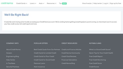 credit karma technical support number