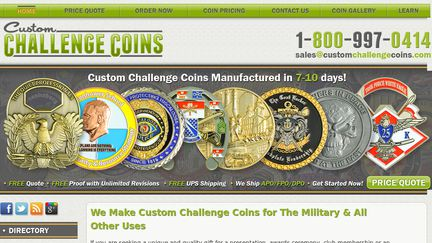 Custom Challenge Coins Reviews - 1,594 Reviews of