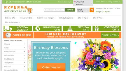 ExpressGiftService co uk Reviews - 17 Reviews of Expressgiftservice