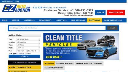 Cars Com Reviews >> Ezautoauction Com Reviews 4 Reviews Of Ezautoauction Com