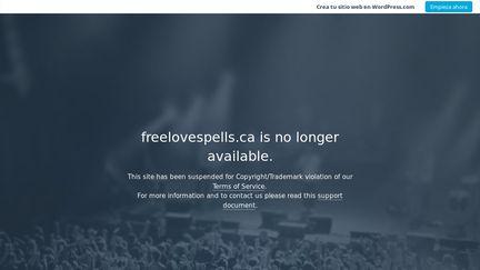 Freelovespells ca Reviews - 1 Review of Freelovespells ca