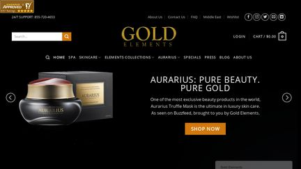 GOLD Elements-usa Reviews - 664 Reviews of Goldelements-usa