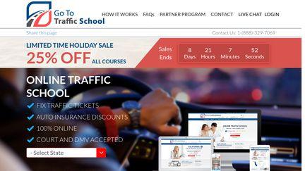 Go To Traffic School >> Gototrafficschool Reviews 14 Reviews Of Gototrafficschool