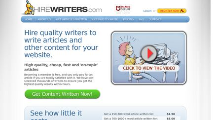 HireWriters Reviews - 29 Reviews of Hirewriters com   Sitejabber