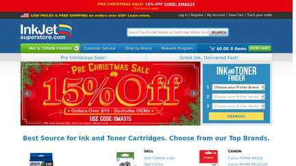 InkJetSuperStore Reviews - 20 Reviews of Inkjetsuperstore