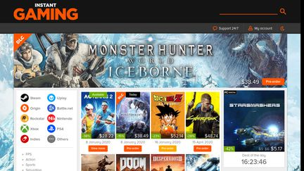Instant-Gaming Reviews - 31 Reviews of Instant-gaming com | Sitejabber