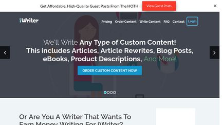 iWriter Reviews - 59 Reviews of Iwriter com   Sitejabber