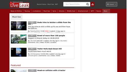 LiveLeak Reviews - 14 Reviews of Liveleak com | Sitejabber