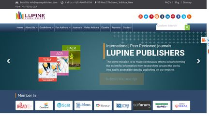Lupine Publishers Reviews - 9 Reviews of Lupinepublishers